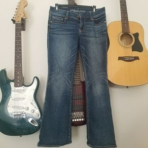 American eagle s10 bootcut jeans